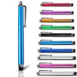 Baby Blue High Sensitivity Capacitive Long Touch Screen Pen Stylus For Tesco Hudl