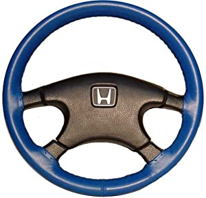 Wheelskins Plymouth Genuine Leather Cobalt Steering Wheel Cover-Size AX