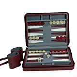 51lukSMeh5L. SL160  Wood Expressions Burg Travel Mag Backgammon