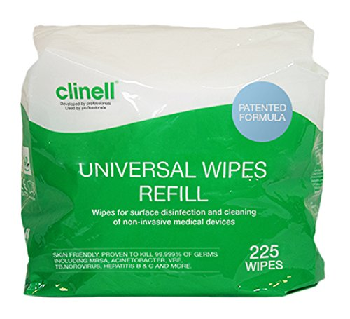 clinell-universal-wipes-bucket-of-225-refill
