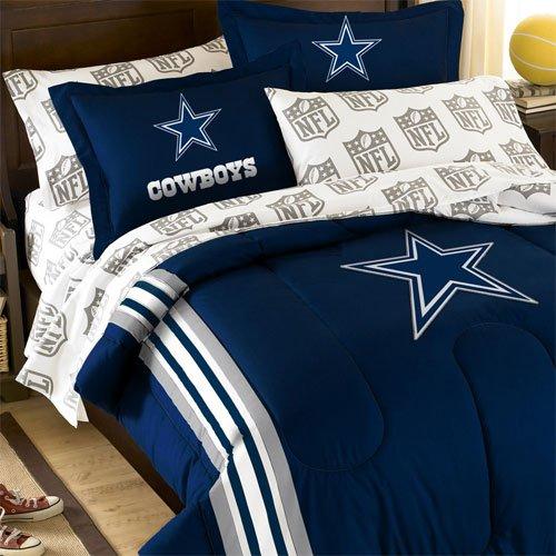 Popular pc NFL Dallas Cowboys Bedding Set Football Comforter Set Full Bed