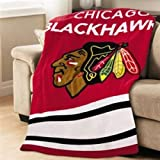 JARDEN TSF8UP-R409-26A00 / Chicago Blackhawks Heated Thrw at Amazon.com