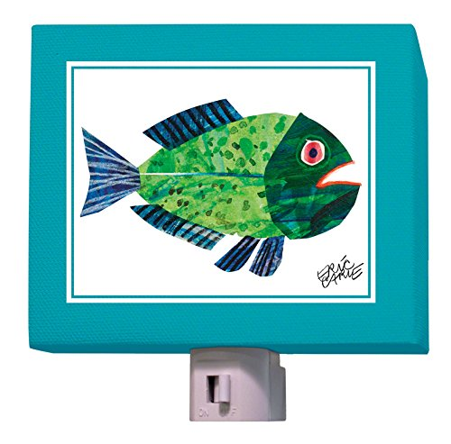 "Oopsy Daisy Eric Carle's Night Light, Fish, 5"" x 4"""