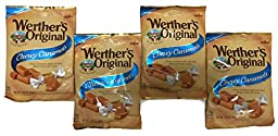 Werther\'s Original Chewy Caramels: 2.40 Oz Bag (Pack of 4)