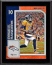 Emmanuel Sanders Denver Broncos 10.5'' x 13'' Sublimated Player Plaque - Fanatics Authentic Certified