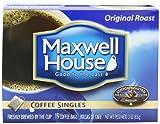 Maxwell House Coffee Singles,Original Roast 19-Count Single Serve Bags Net Wt 3 Oz (Pack of 4), Garden, Lawn, Maintenance