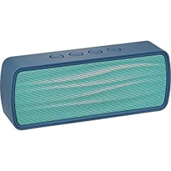 Insignia - Portable Bluetooth Stereo Speaker - BLUE