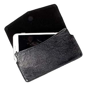 DooDa PU Leather Case Cover For Panasonic Eluga S Mini