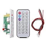 Jili Online Universal DC 12V Bluetooth Car Kit MP3 Decoder Board Audio Module USB/TF/FM - Silver