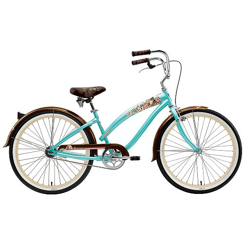 Nirve Island Flower 24 Girls' Cruiser Bicycle