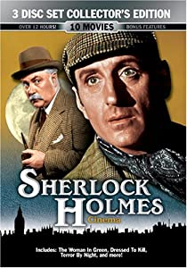 Sherlock Holmes Cinema 3 Disc Collector's Edition
