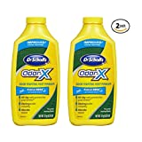 Dr. Scholl's OdorX All Day Deod Powder. 6.25 Ounces, (Pack of 2)