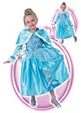 Childrens Cinderella Fancy Dress Costume Disney Outift & Cape 7-8 Yrs