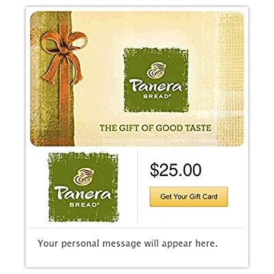 Panera Bread Gift Cards - E-mail Delivery