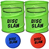 GoSports Disc Slam Flying Disc Game Set, with 2 Discs and Case