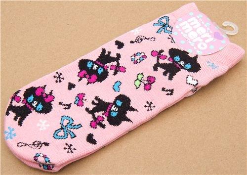 Imagen 3 de calcetines graciosos con gatos negros