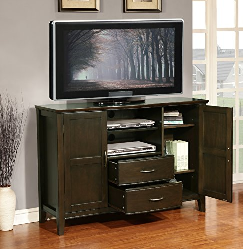 Simpli Home Williamsburg Tall TV Stand, 52