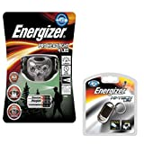 Energizer PRO HEADLIGHT 4 LED X 3 AAA supplied with Energizer LED Keyring Torch