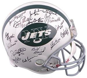 New York Jets Autographed Replica Helmet - 24 Signees - Holo - Namath, Maynard -... by Sports Memorabilia
