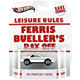 Ferris Bueller's Day Off '84 PONTIAC FIERO Hot Wheels Retro