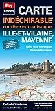 echange, troc Blay-Foldex - Ille et Vilaine (35), Mayenne (53). Carte Départementale, Routière et Touristique (échelle 1/180 000)