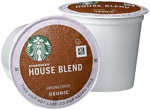 Starbucks House Blend K-Cups, 72 Count (Keurig Pods Starbucks Coffee compare prices)