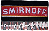 SMIRNOFF VODKA Pub Bar Towel & 10 Beer Mats Coasters