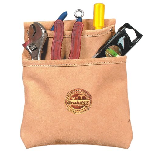 Graintex SS1049 2 Pocket Nail and Tool Pouch