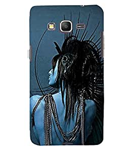 printtech Crazy Girl Back Case Cover for Samsung Galaxy Grand Prime G530h