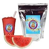 Watermelon Boba / Bubble Tea Powder By Buddha Bubbles Boba 10 Ounces (283 Grams)
