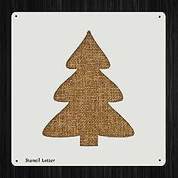 Christmas Tree Style 1675 , DIY Plastic Stencil Acrylic Mylar Reusable