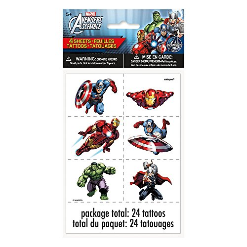 Avengers Tattoos, 24ct