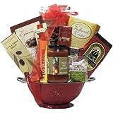 GreatArrivals Gift Baskets Anniversary Gift Basket, Italian Romance, 5 Pound