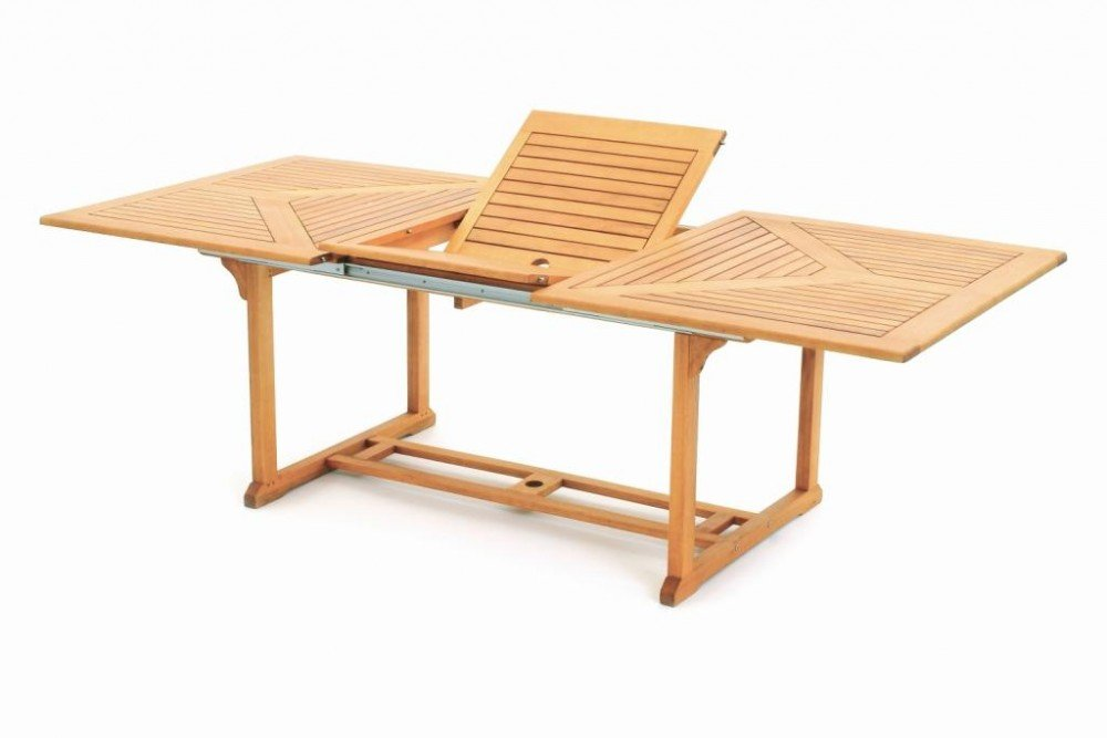 Belardo by Landmann Gartentisch Ausziehtisch 150/200x100cm Eukalyptus Holz Tisch