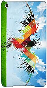 Timpax protective Armor Hard Bumper Back Case Cover. Multicolor printed on 3 Dimensional case with latest & finest graphic design art. Compatible with Apple iPad Mini Design No : TDZ-26881