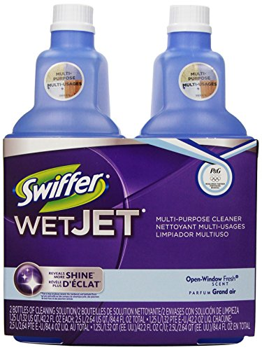 Swiffer Wetjet Spray Mop Floor Cleaner Open Window Fresh