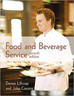 Best book for food and beverage service
