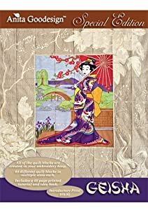 Anita Goodesign Geisha Special Edition Embroidery Designs from Anita Goodesign