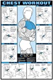 "Chest Workout 24"" X 36"" Laminated Chart"