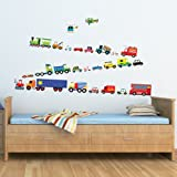 INFEEL, IF-1205, 27 British Transport wall stickers/wall decals/wall transfers/wall tattoos/wall sticker