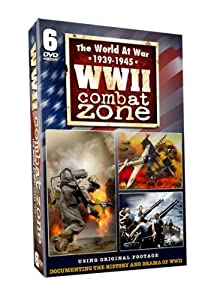 WWII Combat Zone-World at War 1939-1945 - 6 DVD Set - 15 HOURS!