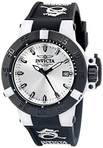 Invicta Women'S 10126 Subaqua Noma Iii Bright Silver Tone Dial Watch