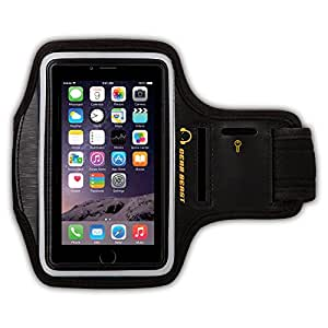 Gear Beast Deluxe Sports Armband for Samsung Galaxy S5 / S4 / S3 & Fire Phone & iPhone 6 & Galaxy S4 Active & LG G2 & HTC & Nexus & Nokia & More [Without a Case] (Black/Black)
