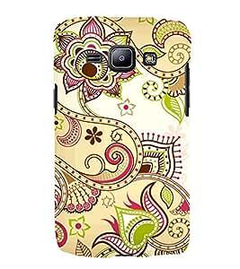 Indian Ranogli Pattern Art 3D Hard Polycarbonate Designer Back Case Cover for Samsung Galaxy J1 (2016) :: Samsung Galaxy J1 (2016) J120H