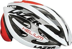 Buy Lazer Helium Helmet: Red White Lotto; LG by Lazer