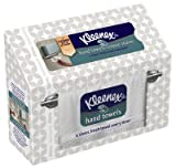 "Kimberly-clark 11271 ""Kleenex"" Hand Towels - 60 Count (Pack of 12) - Color May Vary"
