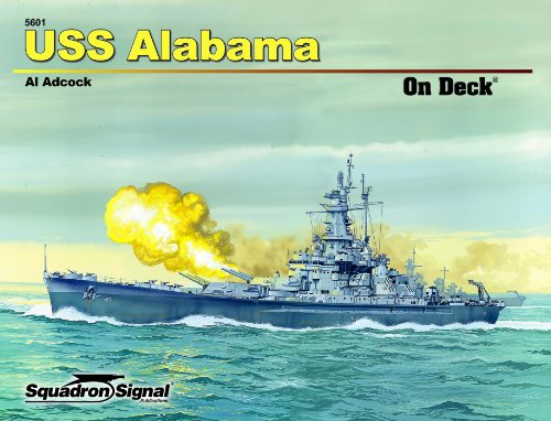 USS Alabama - On Deck No 1089750190X