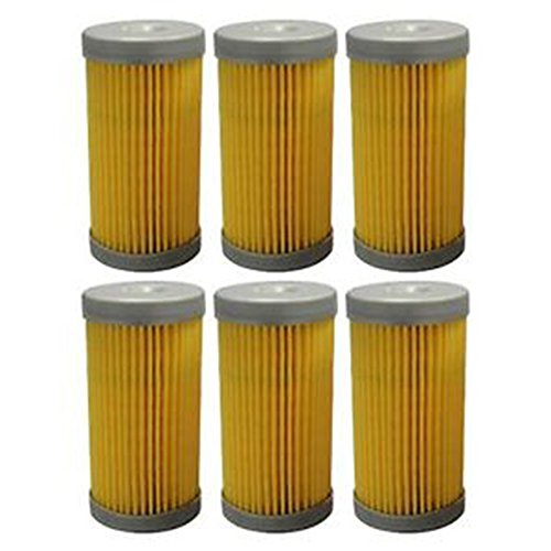 87300039 Six (6) New Ford / New Holland Fuel Filters 1000 1110 1120 1210 1215 ++ (New Holland Tractor Engine Parts compare prices)