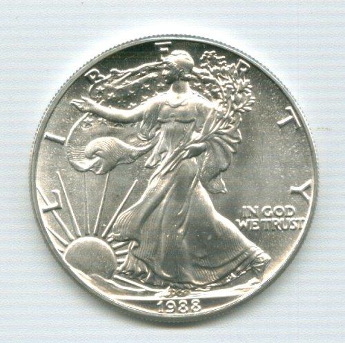1988 Silver American Eagle Dollar
