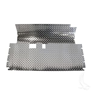 Club Car Precedent Diamond Plate Rubber Mat Floor Cover